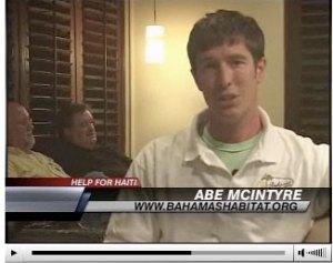 Abe McIntyre of Bahamas Habitat