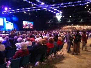 United Methodist Women worship in the Dome