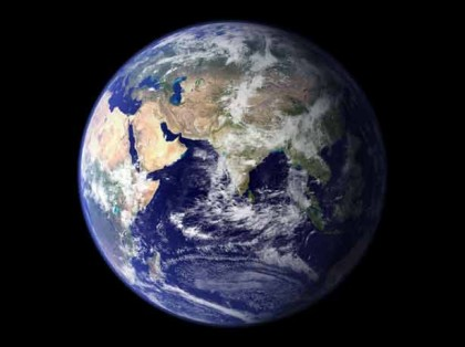 The Blue Marble, photo by NASA