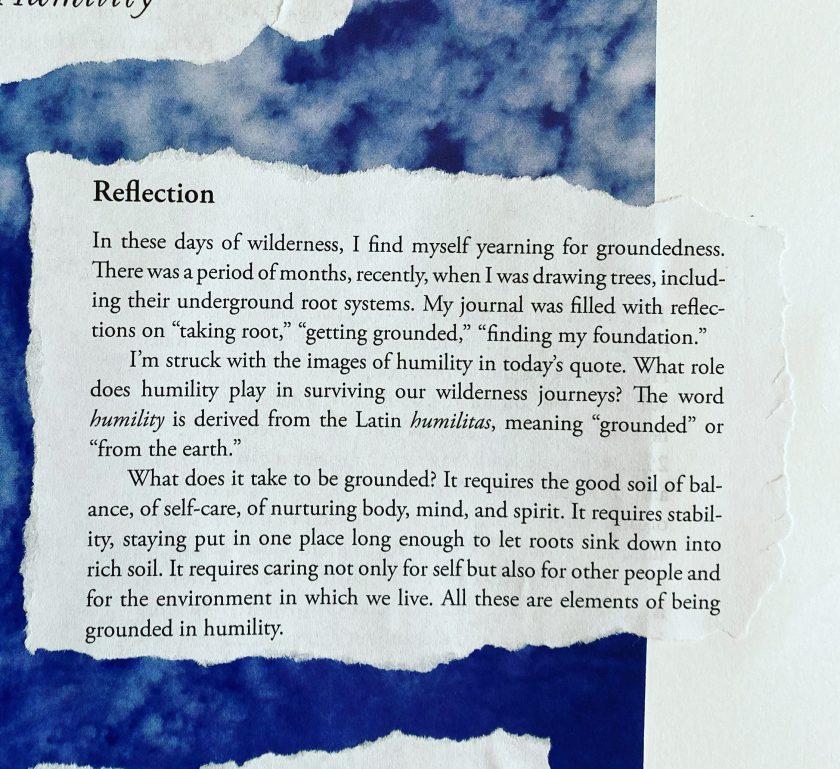 A reflection written by Beth