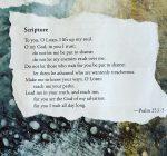 A scripture quote